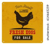 farm fresh eggs poster  card on ...