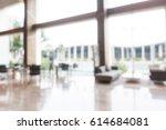 abstract blur beautiful luxury... | Shutterstock . vector #614684081