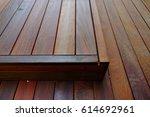 wood floor cover structure... | Shutterstock . vector #614692961