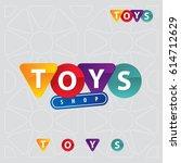 toys shop logo | Shutterstock .eps vector #614712629
