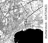 baku azerbaijan vector map... | Shutterstock .eps vector #614714621