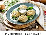Manti. Traditional Meat Dish O...