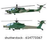 helicopter cartoon. military... | Shutterstock .eps vector #614773367