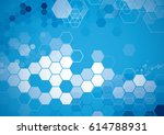vector of abstract geometric... | Shutterstock .eps vector #614788931