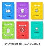 summer travel trip infographic...   Shutterstock .eps vector #614802575
