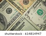 financial background made of... | Shutterstock . vector #614814947