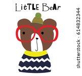 Stock vector cute animal vector artwork 614832344
