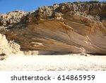 Sedimentary Rock  Cemented San...