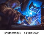 Industrial Worker Labourer At...