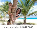 Bautiful And Tropical Beach...