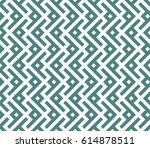 seamless cyan and white... | Shutterstock .eps vector #614878511