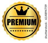 premium icon vector | Shutterstock .eps vector #614894759