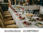 wedding interior   Shutterstock . vector #614894864