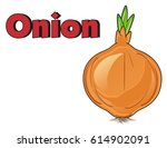 onion with red word onion