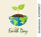 earth day   Shutterstock .eps vector #614908817