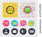 gold glitter and confetti...   Shutterstock .eps vector #614911004