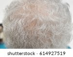 Small photo of gray hair hoary hair white hair old women age grand mother