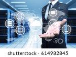 concept of business. | Shutterstock . vector #614982845