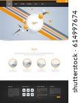 modern vector website template...