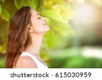 breathe. | Shutterstock . vector #615030959