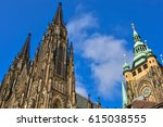 Small photo of St Vitus Cathedral in Prague, Czech Republic