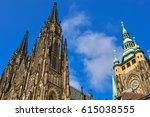 St Vitus Cathedral In Prague ...