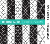 Black And White Moroccan...