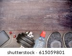 ready for training  fitness...   Shutterstock . vector #615059801