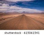 Atacama Desert Road During...