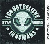 alien face icon set  humanoid... | Shutterstock .eps vector #615065354