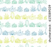 vector blue green lineart... | Shutterstock .eps vector #615089039