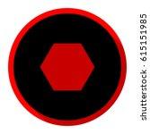 bolts  screws with hexagonal... | Shutterstock .eps vector #615151985