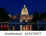 Stock photo washington ds usa capitol 615174377