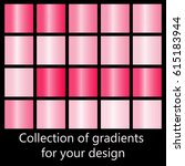 Collection of pink gradients