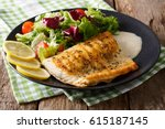 Grilled Arctic Char Fillet Wit...