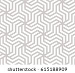 abstract geometric pattern with ... | Shutterstock .eps vector #615188909