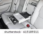 luxury car central armrest for...   Shutterstock . vector #615189311