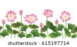 Lotus Flower Seamless Pattern....