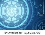 a vector illustration of modern ... | Shutterstock .eps vector #615238709