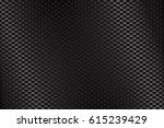 metal perforated background. 3d ... | Shutterstock . vector #615239429