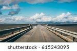 empty road  iceland   Shutterstock . vector #615243095
