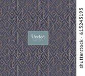 geometric vector pattern ... | Shutterstock .eps vector #615245195
