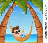 Vector Illustration Of Cartoon...