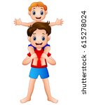 vector illustration of big... | Shutterstock .eps vector #615278024