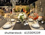 kitchen exhibition 2017 at... | Shutterstock . vector #615309239