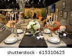 kitchen exhibition 2017 at... | Shutterstock . vector #615310625