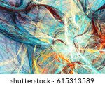 abstract bright color motion... | Shutterstock . vector #615313589