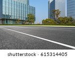 clean urban road with modern... | Shutterstock . vector #615314405