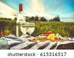 View Of A Picnic In The Nature...