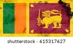 flag of sri lanka | Shutterstock . vector #615317627